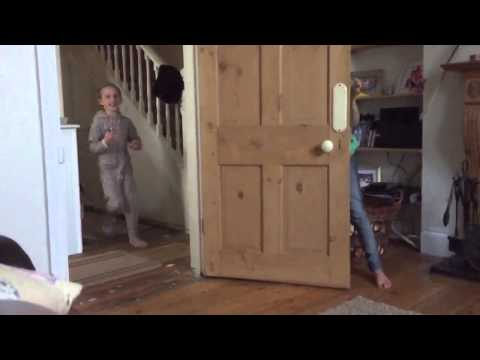 French Bulldog Jumping Fail In Slow Motion