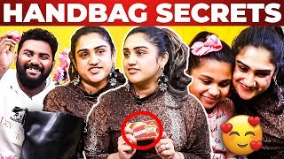 BiggBoss Vanitha Handbag Secrets Revealed by Vj Ashiq | What's Inside the Handbag?