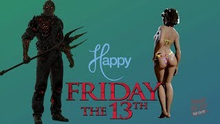 Friday the 13th Gameplay BOTS MODE HARD | Happy Friday The 13th! | PS4 Pro Gameplay