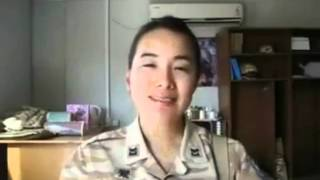 Korean singing Newroz song - Groani kurdi Am Rozhi 2711-2011