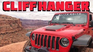 Our Jeep Wrangler JLU Rubicon CONQUERS Cliffhanger!