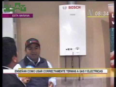 Autorex peruana consejos sobre calentadores de agua en for Como instalar una terma electrica
