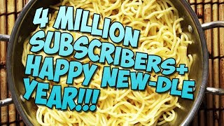 4 MILLION SUBSCRIBERS + HAPPY NEW-DLE YEAR 2019!