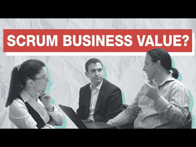 How To Measure Return On Investment Business Value In Scrum Youtube