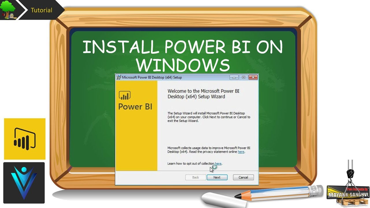 How to download and Install Power BI on Windows 10, Windows 8 1 and WIndows  7
