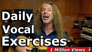 Vocal Warm Up Exercises - Daily Vocal Warm Ups - Vocal Tutor...
