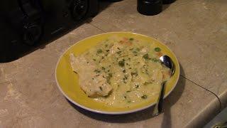 Pressure Cooker Creamy Chicken Pasta