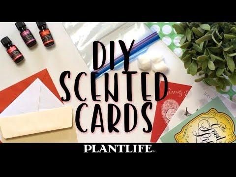DIY Scented Cards Using Essential Oil