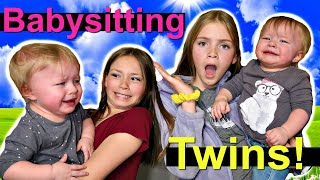 Babysitting Twins! | Splitting Up The Twins! | Surprise Date!