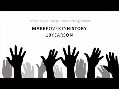 Make Poverty History - 10 Years On