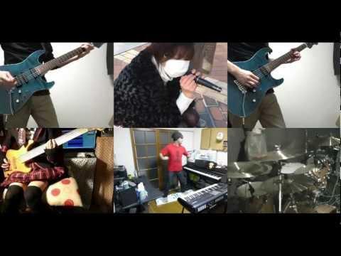 [HD]Hakkenden Touhou Hakken Ibun OP [God FATE] Band cover