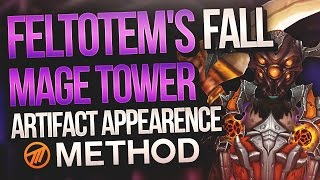 Feltotem's Fall Artifact Challenge - Mage Tower