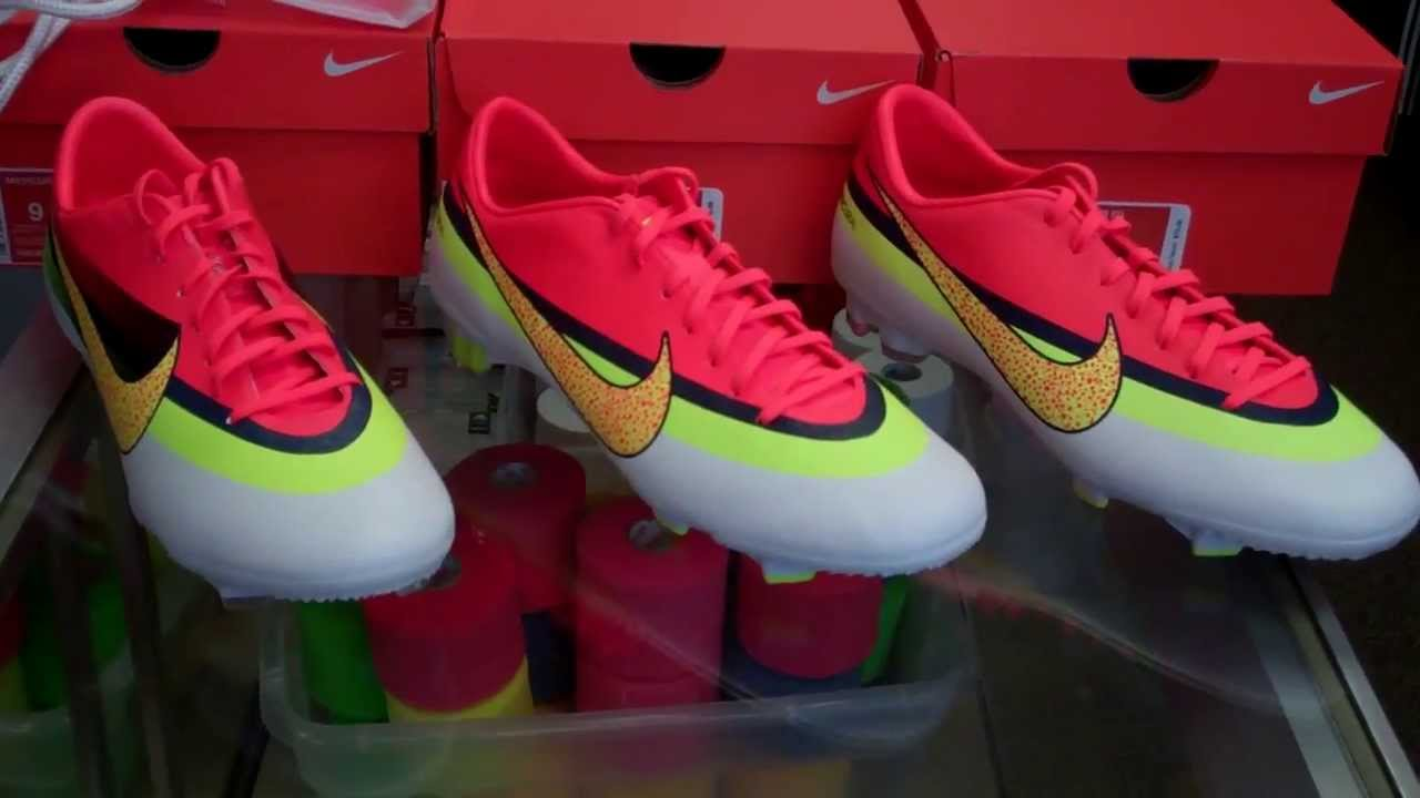 newest collection 6be18 4b54b Nike Mercurial CR Series Review (WhiteTotal CrimsonVoltVolt)