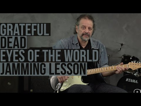 """Jamming on the Grateful Dead's """"Eyes of the World"""" with Andy Aledort"""
