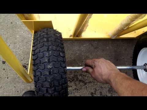 junk harbor freight 600 lb. Capacity Extra Wide Hand Truck Haul-Master - Item#66171