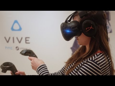 The HTC Vive has a front-facing camera — CES 2016