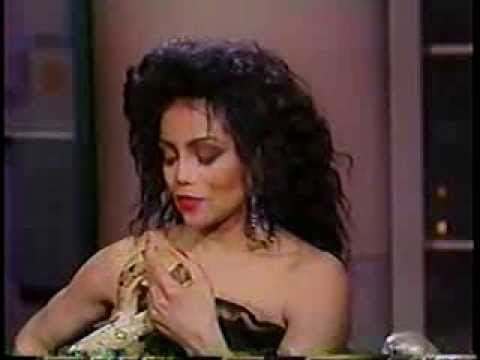 LaToya Jackson @ The David Letterman Show