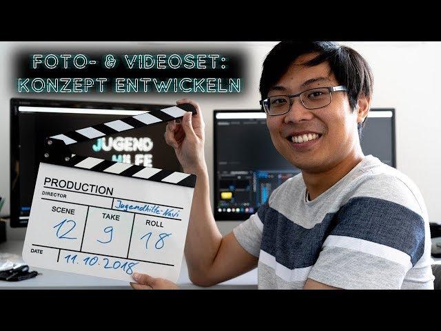 Video- & Fotoset: Konzept entwickeln