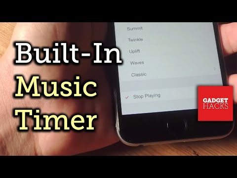 Stop Music with a Timer on Your iPhone [How-To]