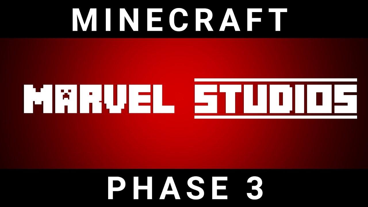 MINECRAFT - Marvel Intro Logo 2017 HD (MCU Phase 3 re-creation)