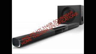 Philips Htl3140b Soundbar Home Theater Specifications complete review