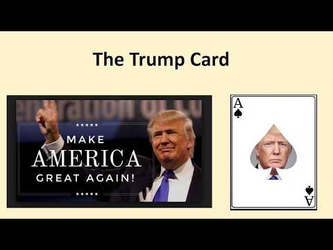 The Trump Card  (Updated) - Walter Veith in Copenhagen - October 2017