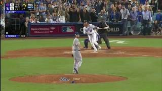Justin Turner Walk Off Home Run NLCS