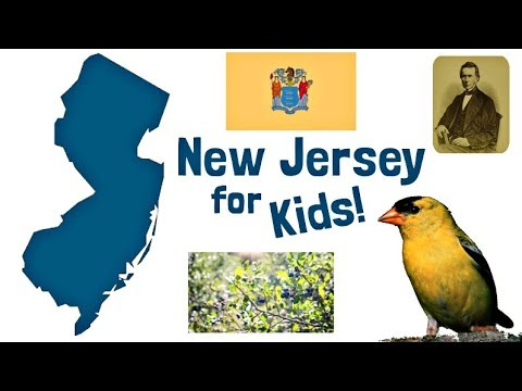 New Jersey For Kids | US States Learning Video