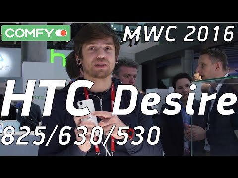 HTC Desire 825, 630 и 530 - три новинки из Тайваня на MWC 2016
