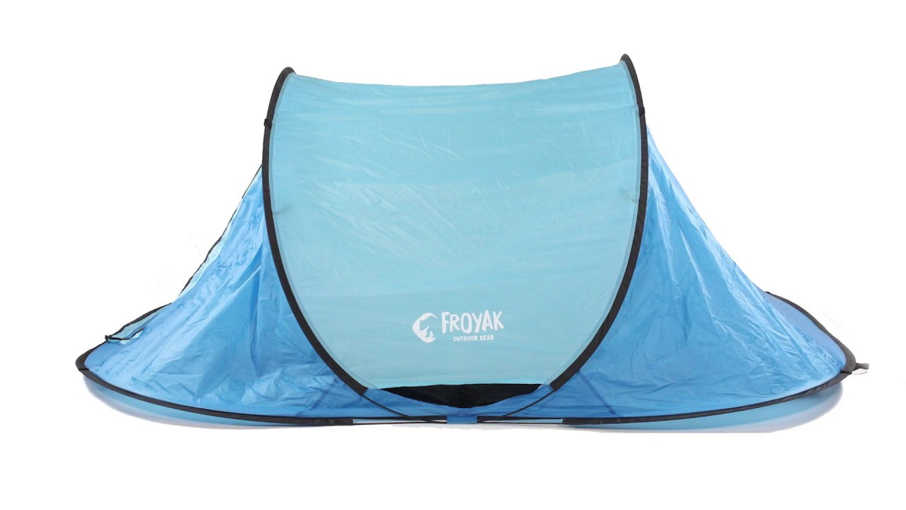 1 Persoons Pop Up Tent Opvouwen Froyak Pop Up Tent