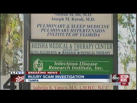 Personal injury scam busted