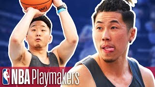 Basketball Knockout Challenge w/ FUNG BROS & Hoop and Life
