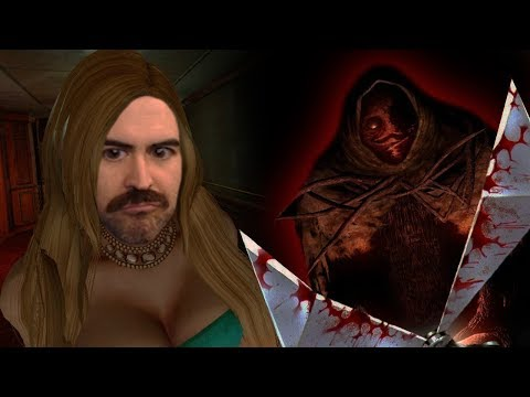 Scary HORROR Game SHAVES My MUSTACHE