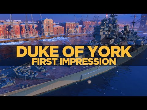 World of Warships - Duke of York First Impression