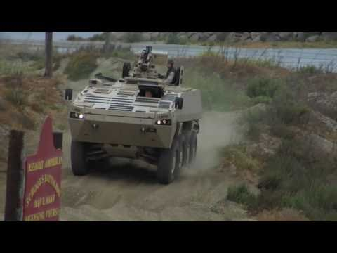 The Power of Eight: 8x8 Marine Personnel Carrier