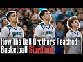 How The BALL BROTHERS Reached Basketball STARDOM! - Lonzo, LiAngelo, and LaMelo Ball
