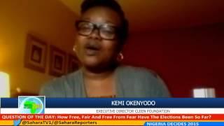 #NIGERIADECIDES 2015 Kemi Okenyodo of CLEEN Foundation on Security