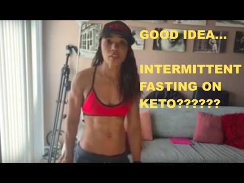 INTERMITTENT FASTING ON A KETOGENIC DIET????????????????? - YouTube