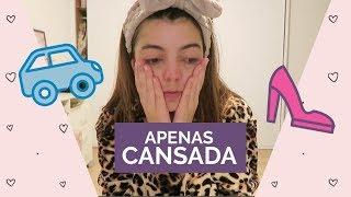 APENAS CANSADA Vlog 141 liatododia Lia Camargo