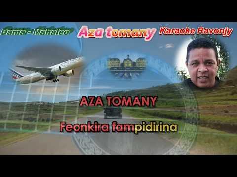 Karaoke gasy - Dama - Aza tomany - Ravonjy