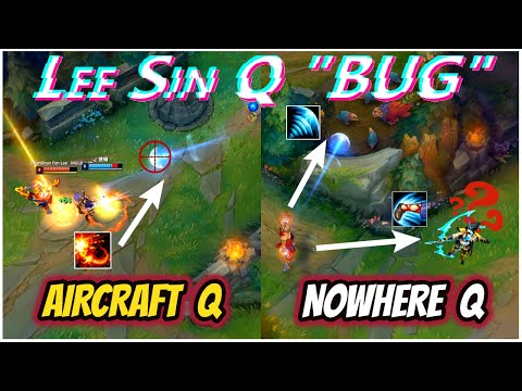 """ABUSING LeeSin Q """"BUGs"""" ALL THE GAME - 2020 URF CHINESE LEE SIN MONTAGES REMIX - League Of Legends"""
