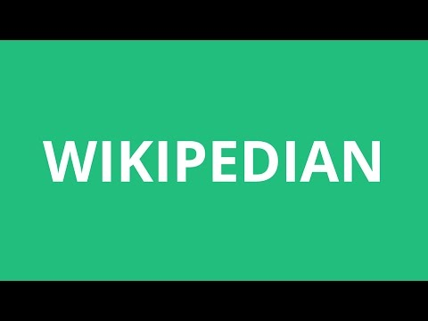 How To Pronounce Wikipedian - Pronunciation Academy
