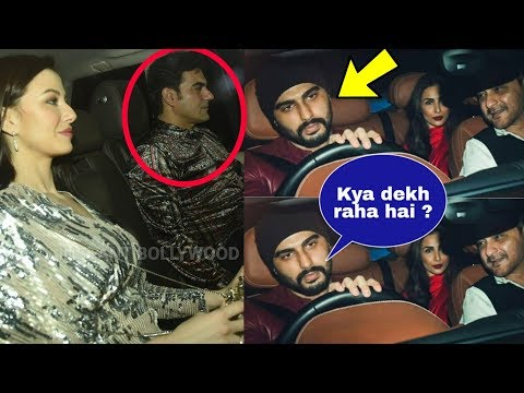 Arjun Kapoor comes face to face with Malaika's ex husband Arbaaz Khan and could see eye to eye