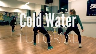 Hip Hop DANCE TUTORIAL ★ Cold Water (deutsch) @TanzAlex - Stafaband