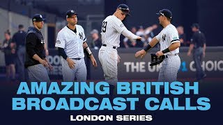 Awesome British Broadcast Calls From Yankees-red Sox In London!