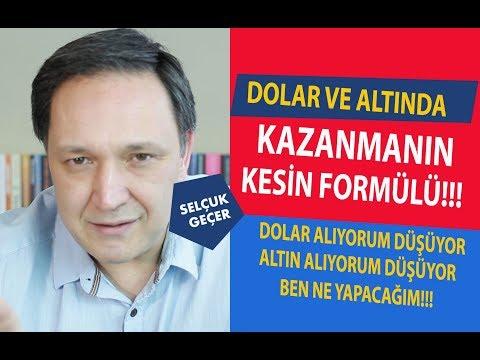DOLAR VE ALTINDA KAZANMANIN KESİN FORMÜLÜ !!!