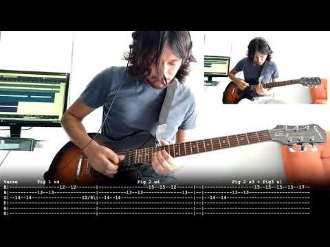 The Rover - Interpol | Cover | Tutorial | Guitar | Chords | Tab