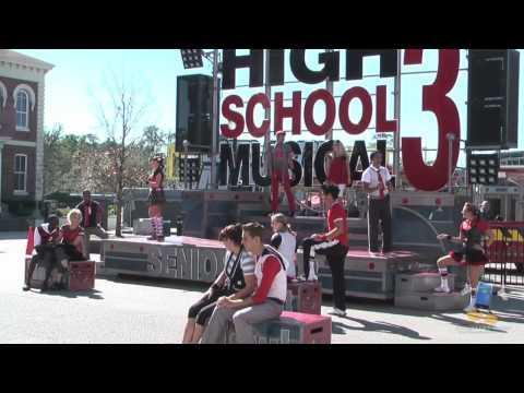 High School Musical 3: Senior Year Live show - Walt Disney World - HD