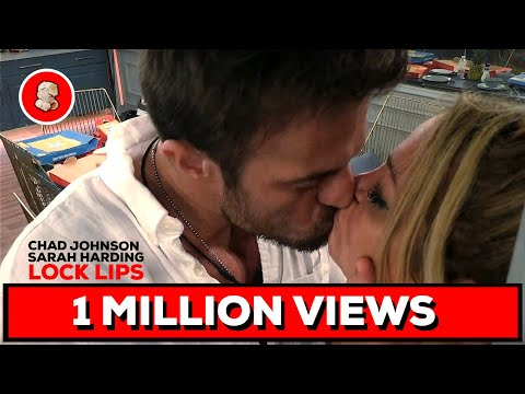 Sarah Harding And Chad Johnson Lock Lips!   Celebrity Big Brother   Day 11