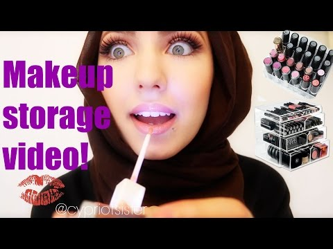 Makeup Storage & Collection. | Cypriot Sister